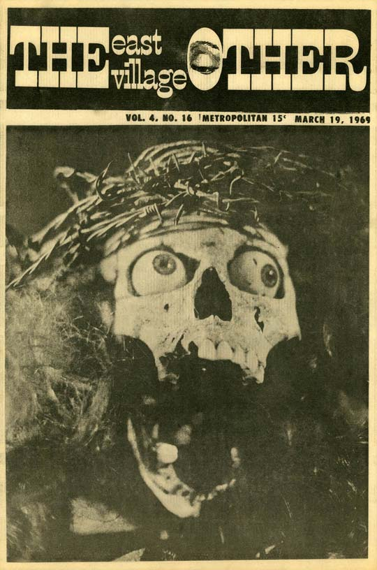 Cover, East Village Other, March 19, 1969
