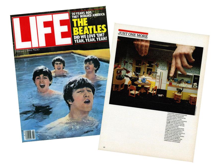 Fish Condos, Life Magazine, February, 1984