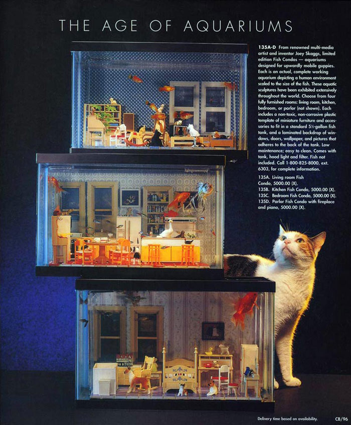 The Age of Aquariums, Neiman Marcus Christmas Catalog, December 1996