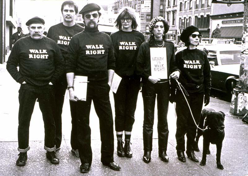 Joey Skaggs' WALK RIGHT! Commandos