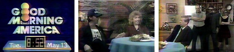 Joey Skaggs, Steffani Martin & Fat Squad Commandos on Good Morning America with David Hartman