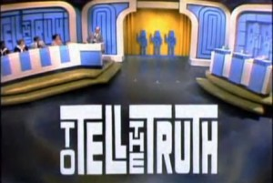 To Tell The Truth TV Show Logo