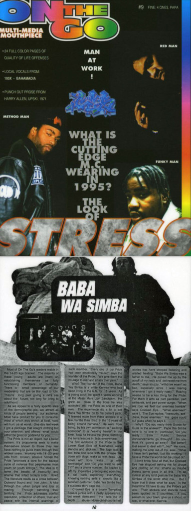 Baba Wa Simba, Multi-Media Mouthpiece: On The Go #9