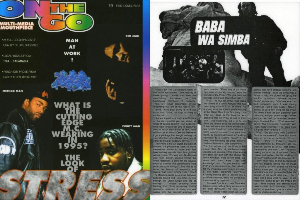 Baba Wa Simba, Multi-Media Mouthpiece: On The Go #9