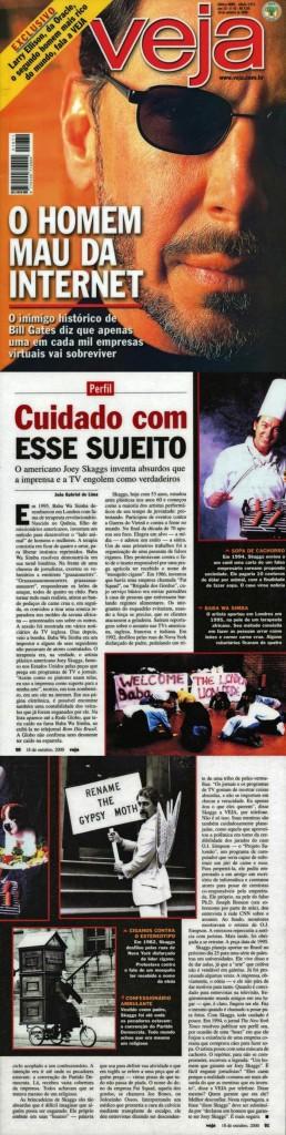 Perfil: Cuidado com Esse Sujeito, Veja, October 18, 2000