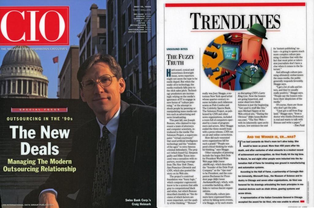 Trendlines: Unsound Bites, The Fuzzy Truth, CIO, May 15, 1996