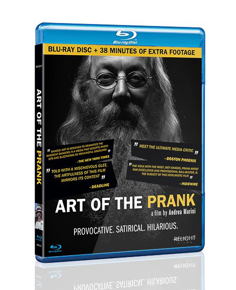 ART OF THE PRANK Blu-Ray package