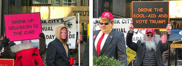 Joey Skaggs' 34th Annual April Fools' Day Parade and 3rd Annual Trumpathon (2019)